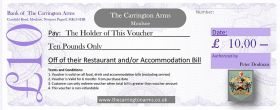 £10 Gift Voucher - Delivery