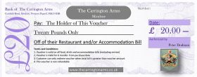 £20 Gift Voucher - Delivery
